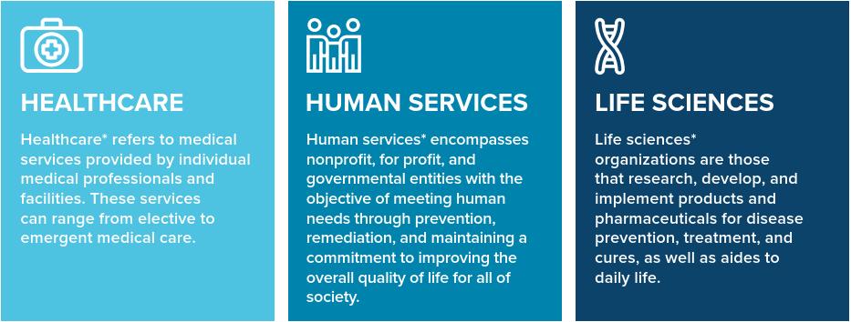 Healthcare Human Services Life Sciences